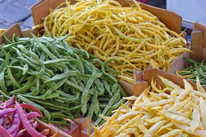 Green Beans, Are They All Green